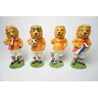 4 Beelden. Oranje Leeuw Nederland Elftal Voetbal WK 2018 EK