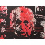 Bondy Living Albert Einstein Vision Fashion Canvas 120x90 cm