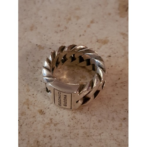 Buddha to Buddha zilvere ring 18 mm 24 gram zilver 925