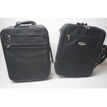 Carlton trolly koffer met laptop tas