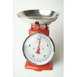 Klassieke vintage keukenweegschaal maximaal 5 kg
