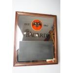 Bacardi barspiegel - mirror met memo - schrijf gedeelte