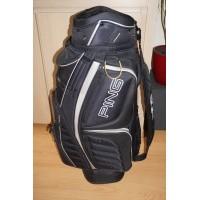 Ping golftas met 14 + 1 putter vak, kleur zwart, golf tas