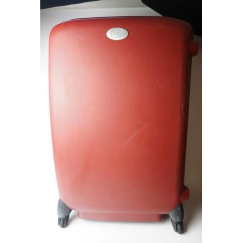 American tourister trolly koffer bordeau rood op 4 wielen 81x53x30 cm