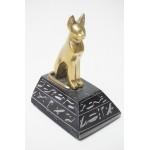 Egyptisch beeldje met kat