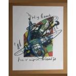 Herman Brood - 1993 Vliegtuig 'Hij komt' Sinterklaas
