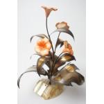 Mario Jason originals vintage bloemen sculptuur