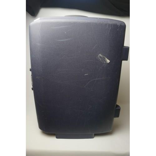 Samsonite trolly koffer donker blauw, cijferslot handgreep