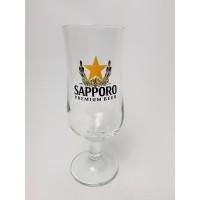 Sapporo bierglas, 3 stuks