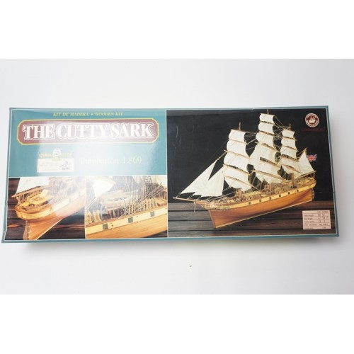 The Cutty Sark wooden kit dumbarton 1869 bouwmodel