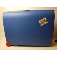 Carlton koffer fel blauw, cijferslot, 75x60x25 cm