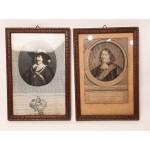 2 Staalgravures Philips - Filips van Dorp en Aerd van Nes