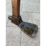 Antiek vlakke - platte dissel Spear - jackson no 2 sheffield