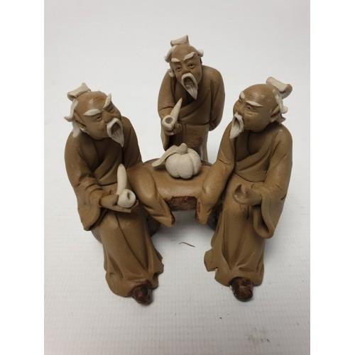 Chinees aardewerk beeldje