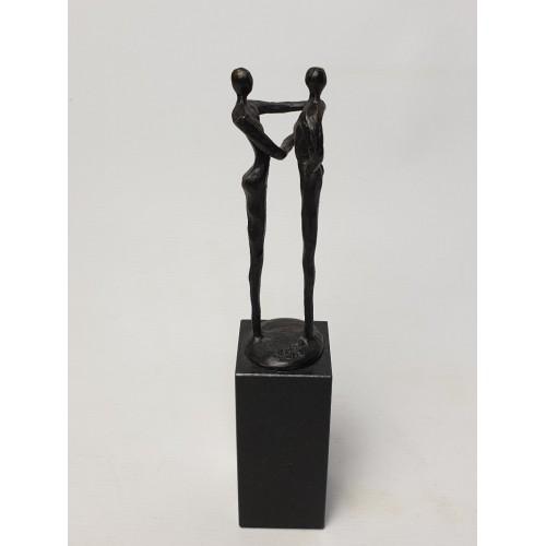 Corry Ammerlaan Beeld Sculptuur De handdruk