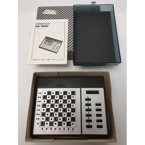 CXG Advanced Portachess Schaakcomputer 1982
