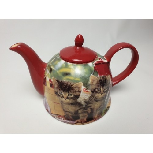 Jameson & Tailor Theepot Design kittens / katten