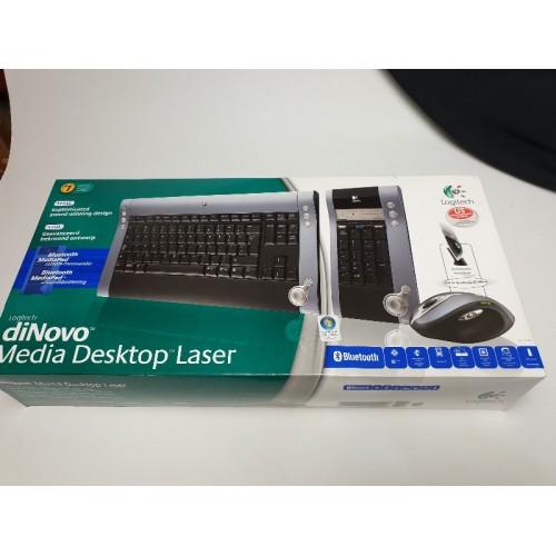 Logitech Dinovo Media Desktop Laser set, Bleutooth
