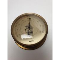 Meteo hygrometer verfraaid met een afbeelding van een VOC schip