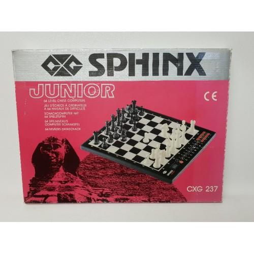 Sphinx junior cxg 237 schaakcomputer