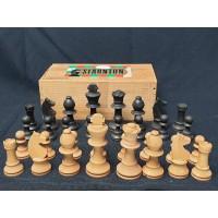 Staunton schaakstukken koninghoogte 8 cm