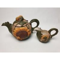 Sunflower Teapot by Duncan Ent. 1995