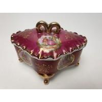 Versailles porselein antieke sieraden doos