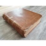 Bijbel uit 1864. De gansche heilige schrift. J.W. & C.F. Swaan