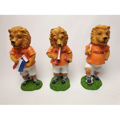3 Beelden. Oranje Leeuw Nederland Elftal Voetbal WK 2018 EK