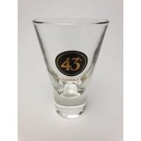43 Cuarenta Y Tres glas 11 cm hoog
