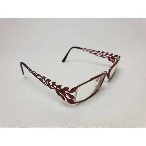 Rode dames bril glazen op sterkte