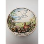 Wandbord trekvogels van het WNF 1982, Regina polychrome