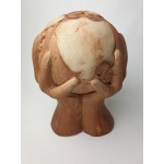 Worpswede Keramik-werkstatt - Keramiek sculptuur wereldbol