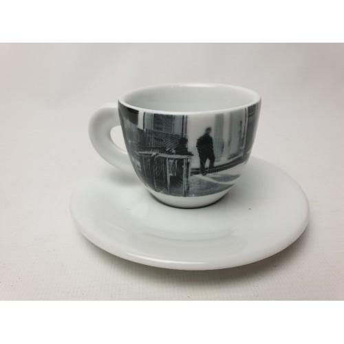 Le Porcellane Italy D'ancap espresso Kop en schotels