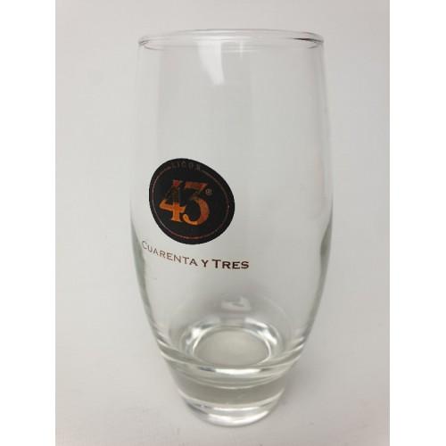 43 Cuarenta Y Tres glas 13 cm hoog.