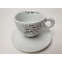 Illy dream by shizuka yokomizo espresso kop en schotel