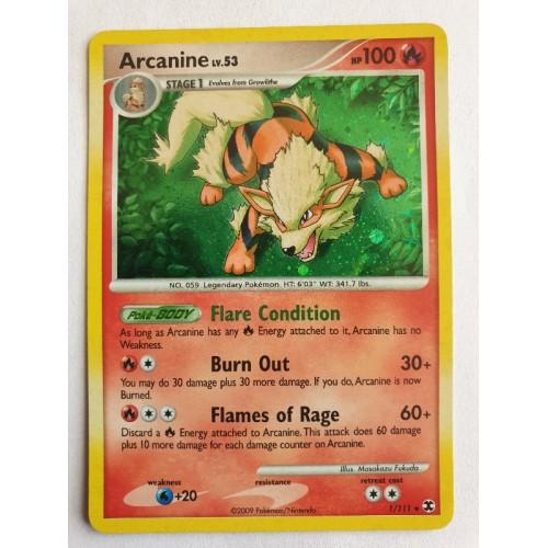 Arcanine - 1 / 111 - Holo Rare