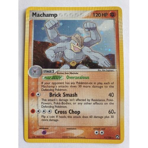 Machamp - 11 / 108 - Holo Rare