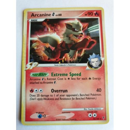 Arcanine G - 15 / 147 - Holo Rare Theme Deck Exclusive