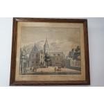 Gravure, Alkmaar periode 1730 door Leonard Schenk (2)