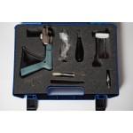 AMP Pistol-Grip system multiplexer in plastic koffer