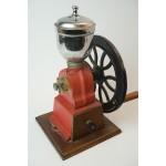 Antiek spaanse Zware metalen koffiemolen - ca. 1900