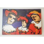 Herman brood print nr 1, 3 musketiers