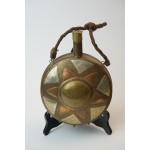 Koper of bronzen kruithoorn - kruitbus handgemaakt (1 van 4)