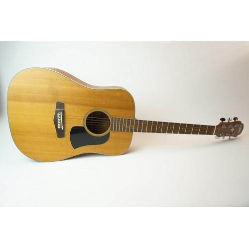 Aria 130s - 130 s akoestische western gitaar, stale snaren