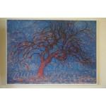 Pieter Cornelis Mondriaan, The Red Three. 1872 - 1944 poster