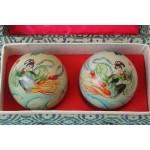 Set japanse Baoding ballen geisha afbeelding