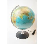 Vintage wereldbol Scan Globe A/S 1993 Denmark, Nederlands NL