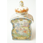 Sadler the world of tea collection caddy, thee bewaarpotje