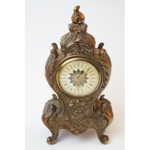 Mercedes tafel - mantel klok, brons uiterlijk